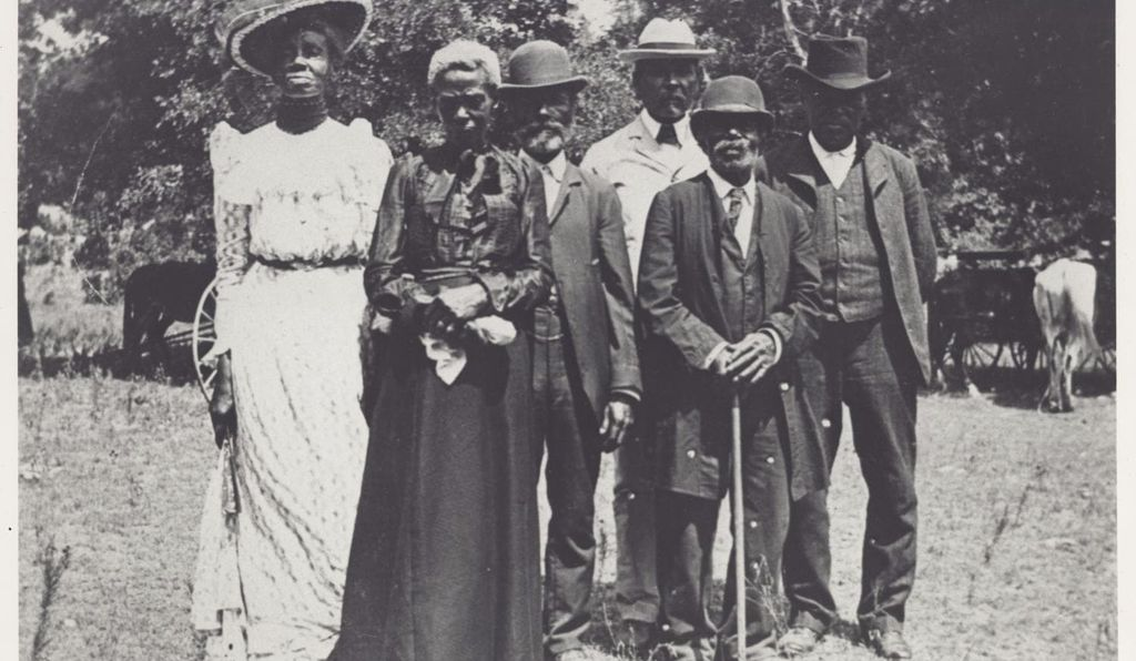 Photograph from Juneteenth Emancipation Day celebration, June 19, 1900.