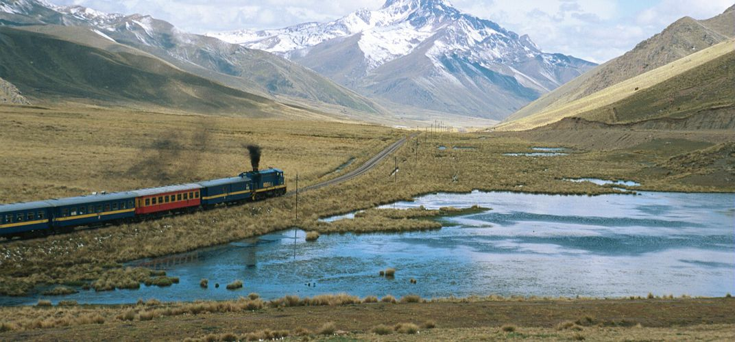Across the Altiplano on the Andean Explorer