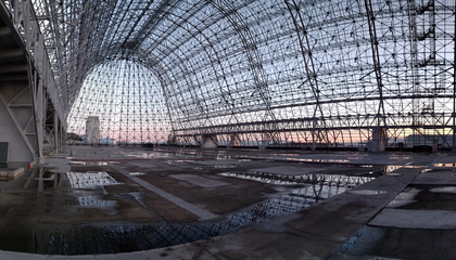 Inside Hangar One