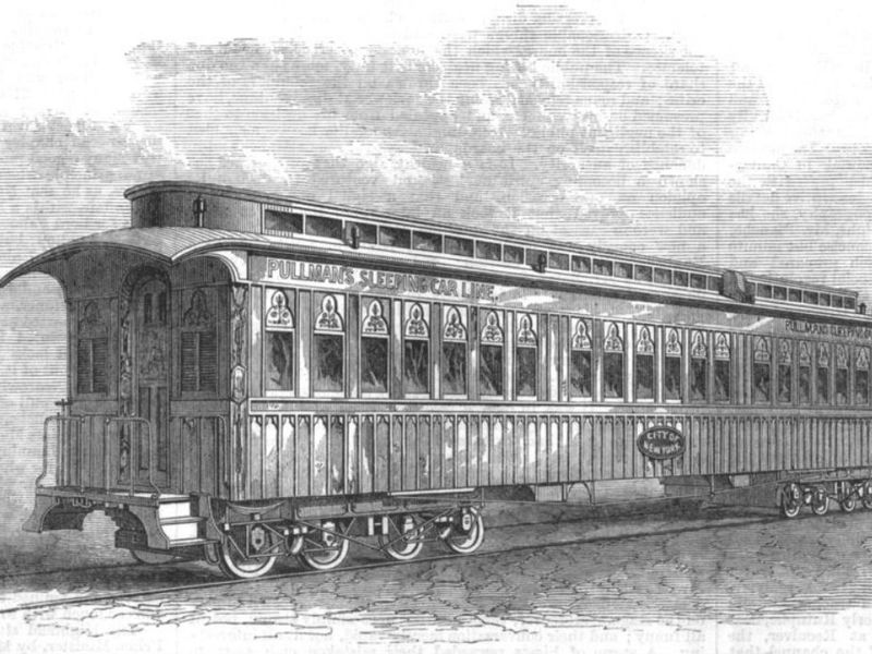 dfc9f4a1e Traveling in Style and Comfort  The Pullman Sleeping Car