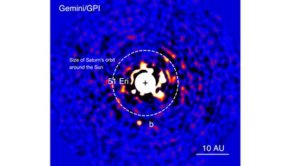 First Picture of a 'Young Jupiter' Exoplanet
