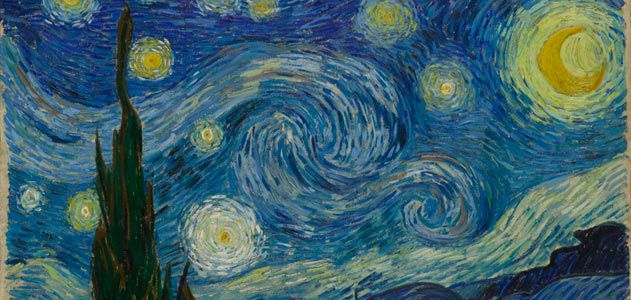 van gogh s night visions arts culture smithsonian vincent van goghs the starry night ""