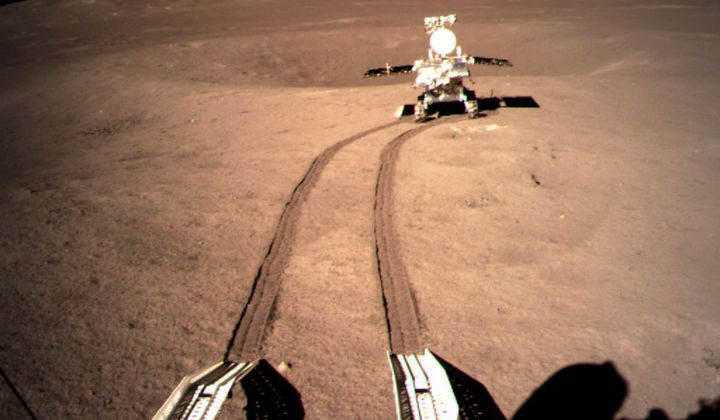 Best Photos of China's Far Side Moon Landing