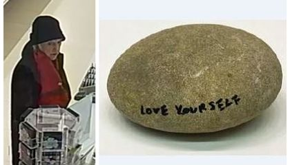 Wanted: $17,500 Rock Lifted From Yoko Ono Installation