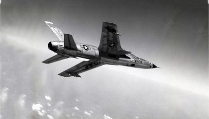 With a Loud KABOOM, an F-105 Upstaged Our Air Force Graduation