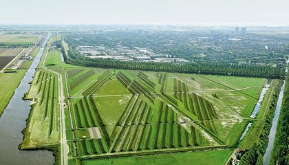 This Crazy Land Art Deflects Noise From Amsterdam's Airport