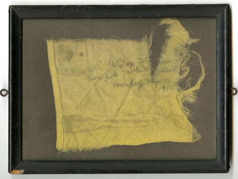 Fragment from a flag