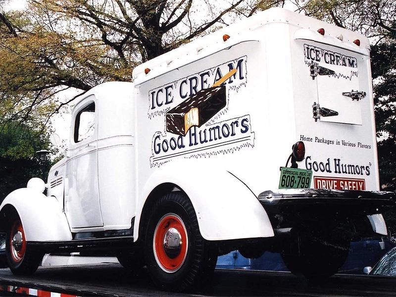 Classic Good Humor Ice Cream Truck
