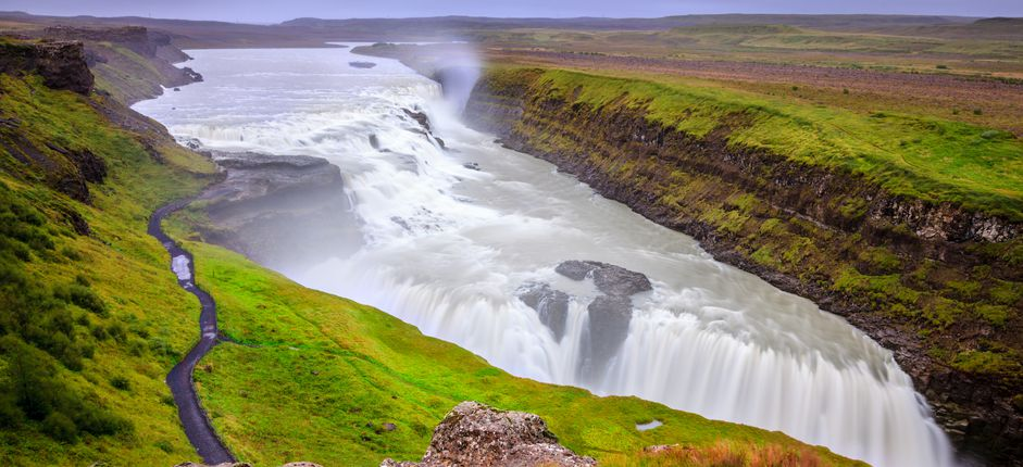 Adventure in Iceland <p>Explore the natural beauty and geological wonders of this amazing island, home to massive glaciers, powerful waterfalls, volcanoes, spouting hot springs, and black-sand beaches.</p>