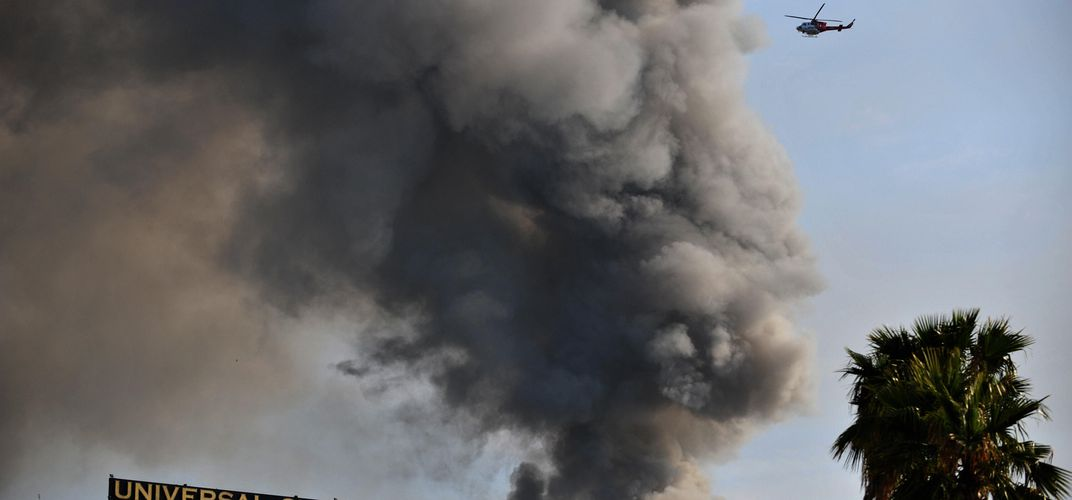 Caption: Universal Fire Claimed 500,000 Master Recordings