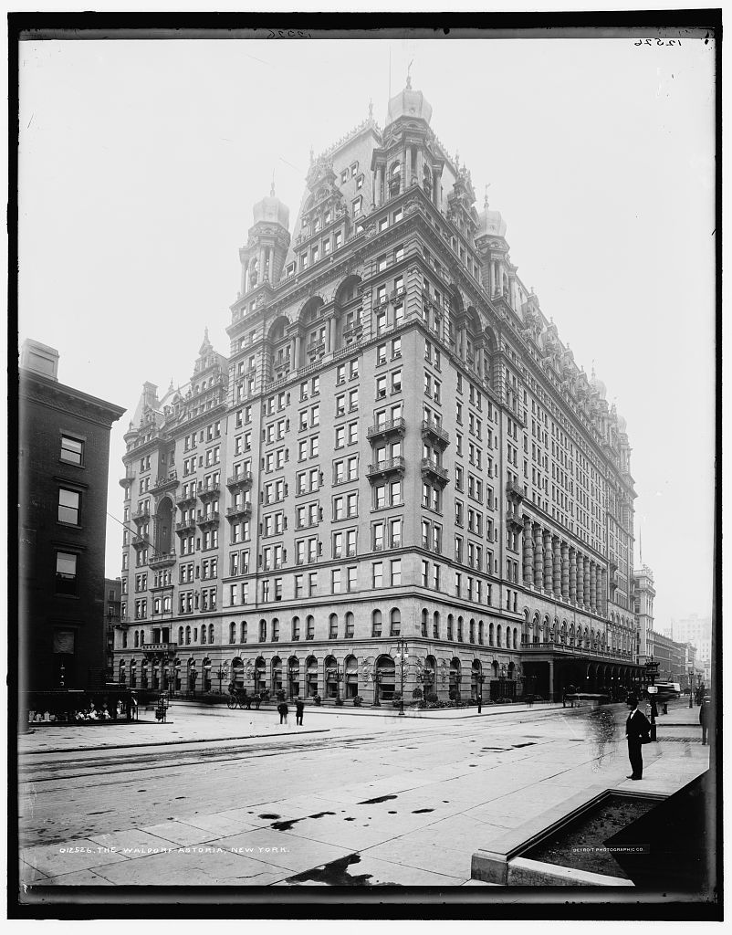 The original Waldorf-Astoria