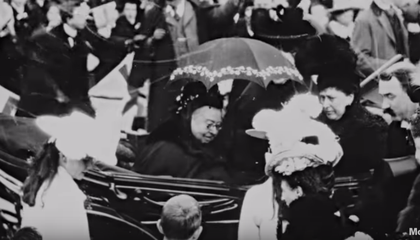Watch Rare Footage of a Smiling, Sunglass-Wearing Queen Victoria
