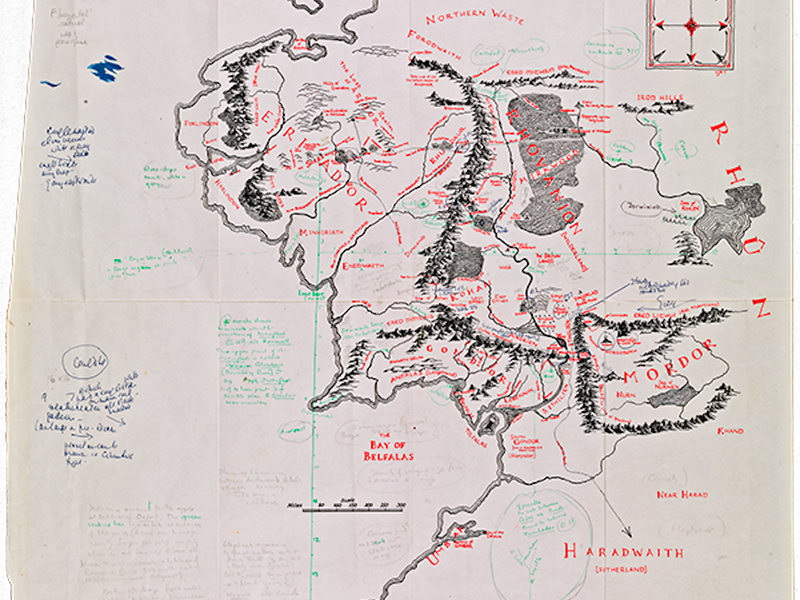Annotated Middle-earth