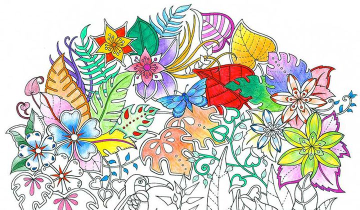 The Queen of Coloring Books Is Back