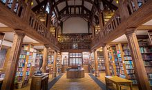 I Spent the Night at a Library in Wales