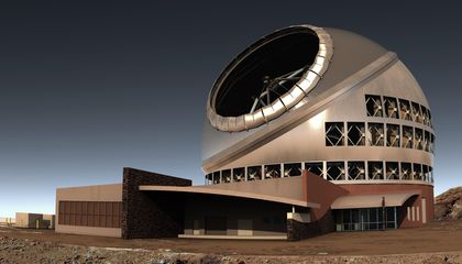 Controversial Hawaiian Telescope Gets State Approval