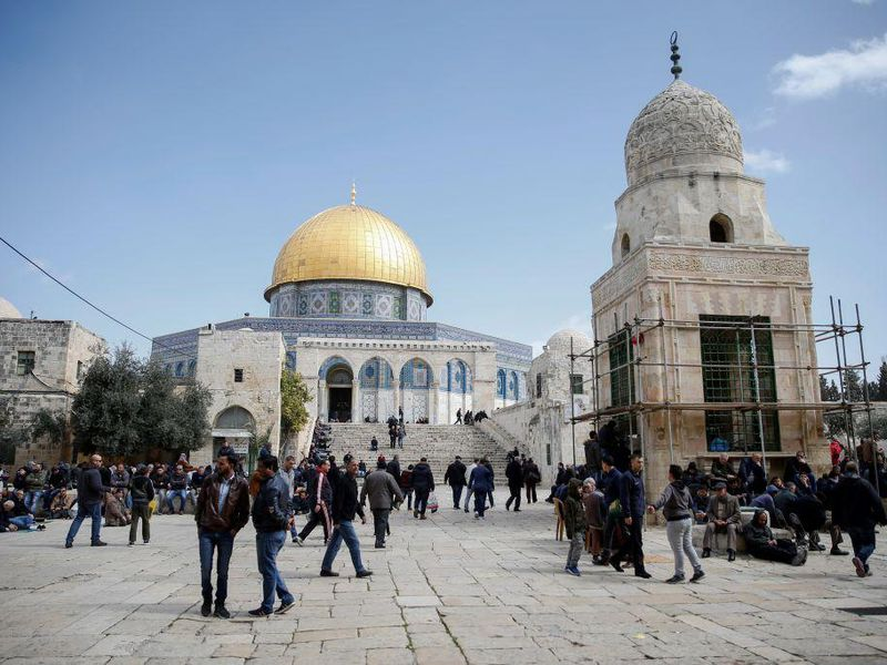 A Small Fire Broke Out at Jerusalem's Al-Aqsa Mosque as