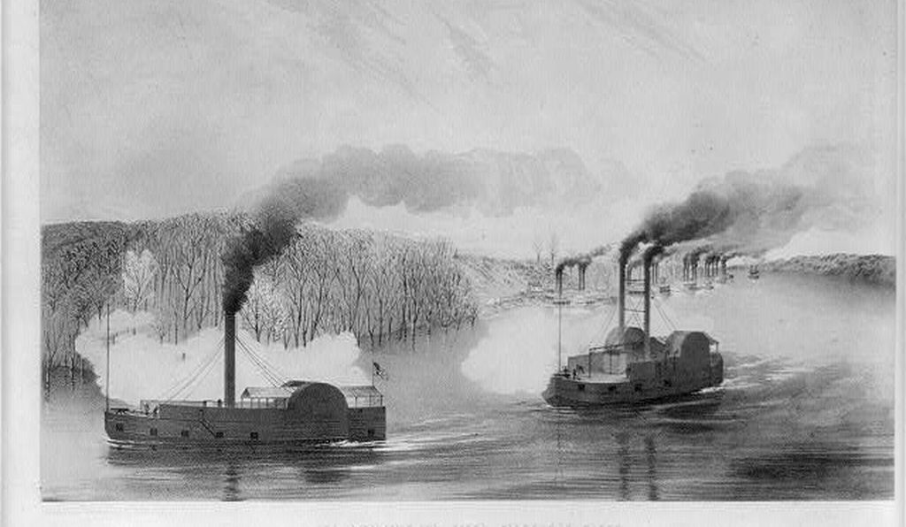 The gunboats Tylor