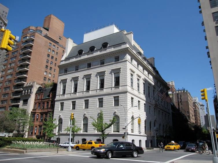 New York City's Union Club served an early version of the club sandwich that was a hit.