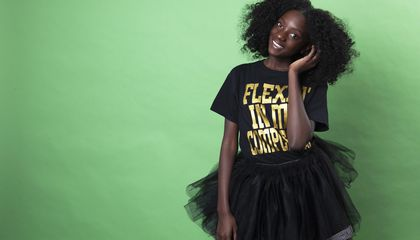 Image: Flexin' in her Complexion: Bullied girl a messenger of hope