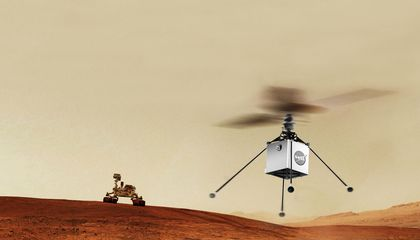 A Helicopter Dreams of Mars