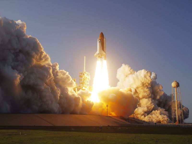 Space shuttle Discovery lifted-off from NASA's Kennedy Space Center for its 39th and final mission.