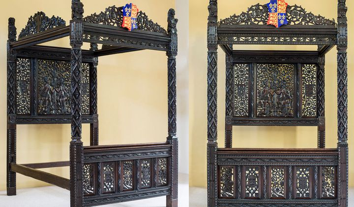 Henry VII's Marriage Bed Spent 15 Years in a Hotel
