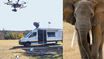 Can UAVs Save the Elephants?