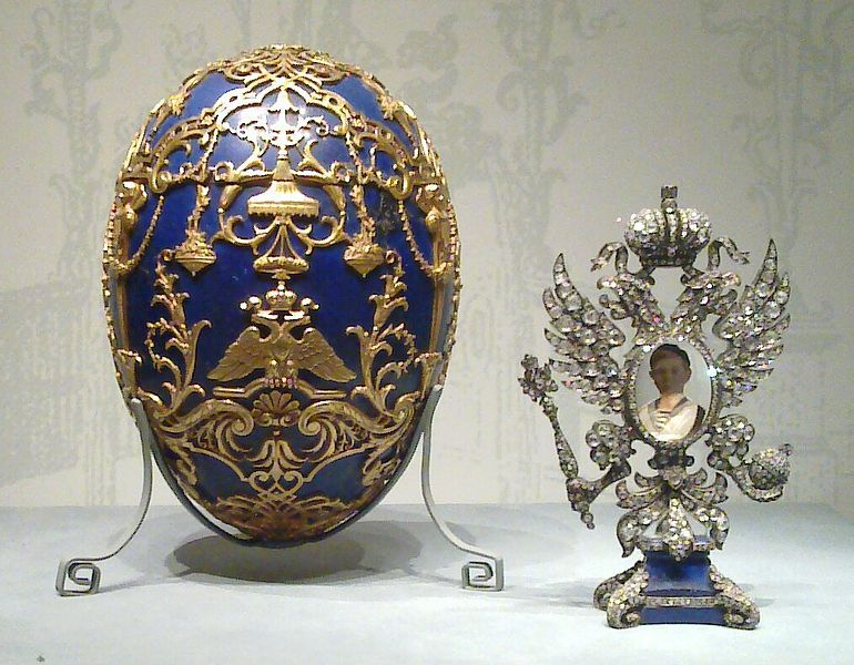 Where to see the fabled faberg imperial easter eggs travel imperial tsesarevich easter egg negle Gallery