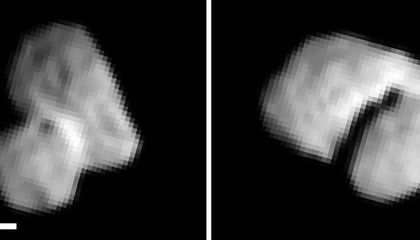 Rosetta's Comet Has a Shiny Necklace
