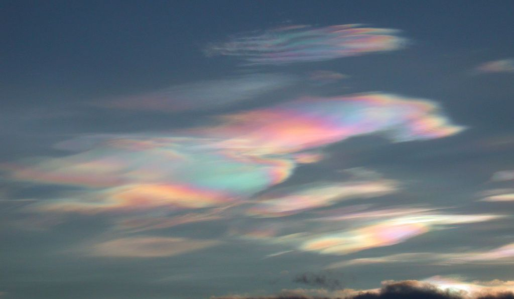 The clouds form in icy temperatures and can be viewed only at certain latitudes and times of day.