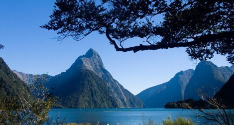 Milford Sound, in Fiordland National Park, offers some of New Zealand's most thrilling scenery.