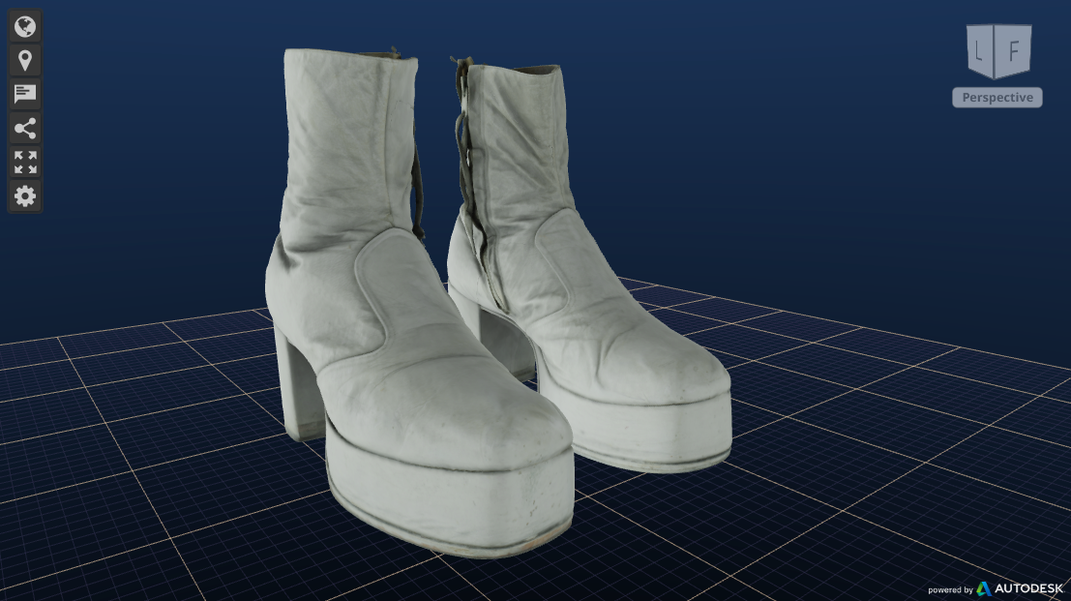 The Wiz costume boots