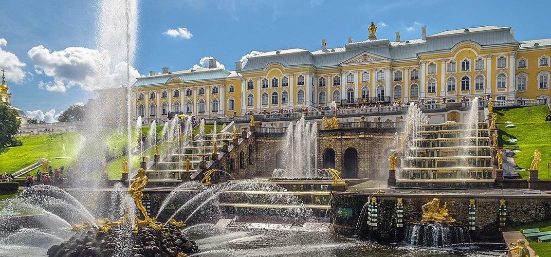 Caption: Explore the Many Lives of These Russian Palaces