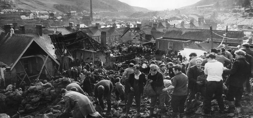 Caption: The True Story of 'The Crown' Aberfan Disaster