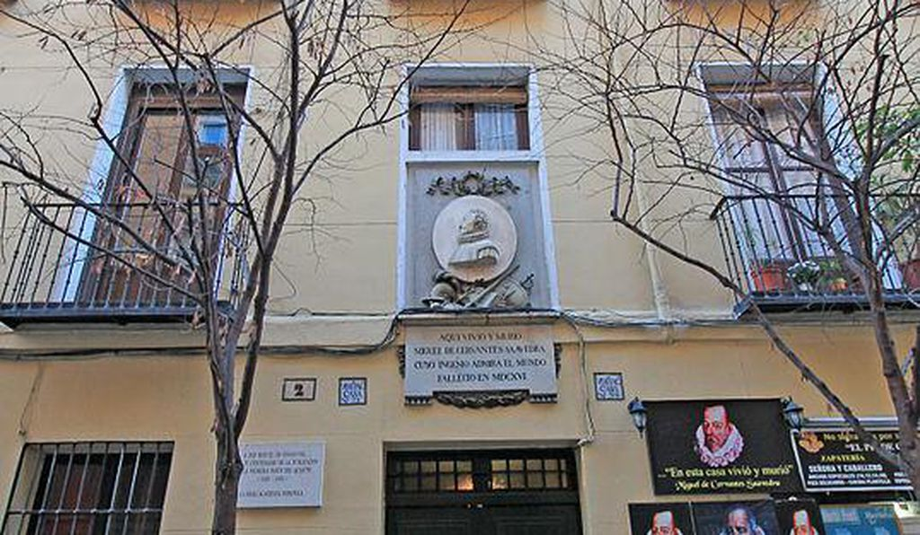 Cervantes' house in Madrid