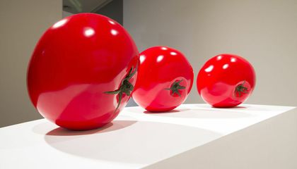 These Sculptures of Giant Tomatoes Are Ripe For the Picking
