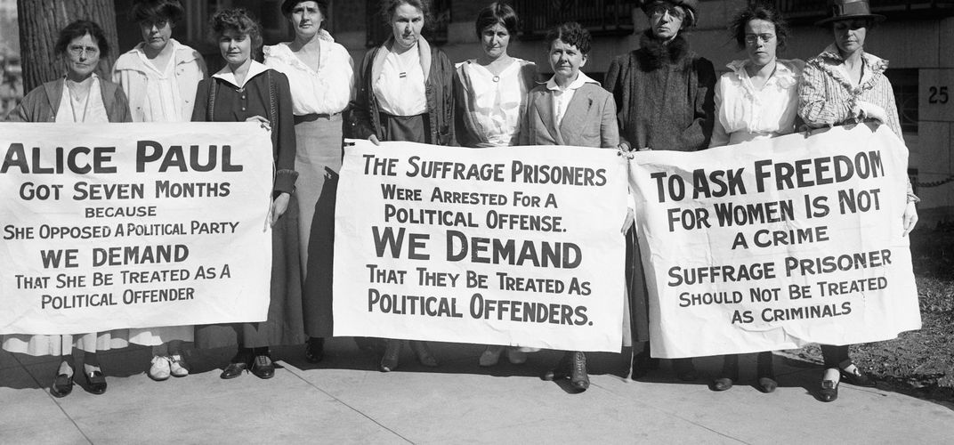 Caption: A Museum Showcases the Radical Suffrage Protests