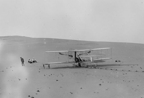 Wilbur Wright took Charley Furnas for a ride 100 years ago today.