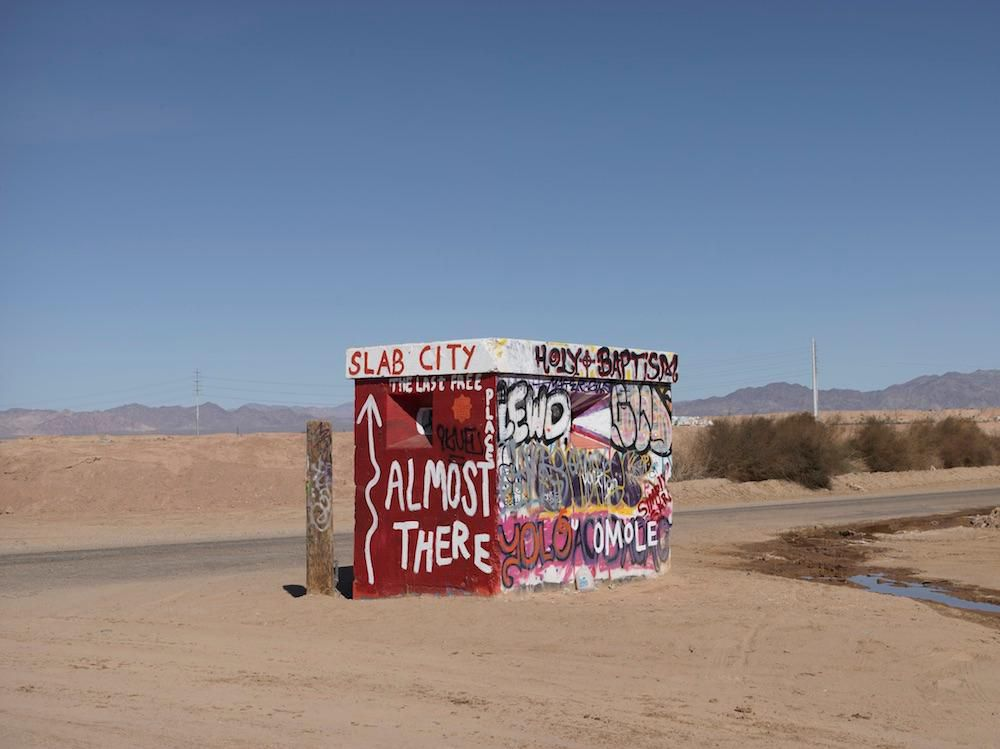 Inside Slab City, a Squatters' Paradise in Southern