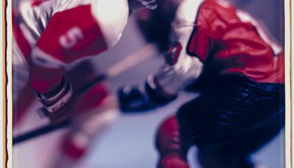 The Puck Stops Here: David Levinthal's Hockey Photographs