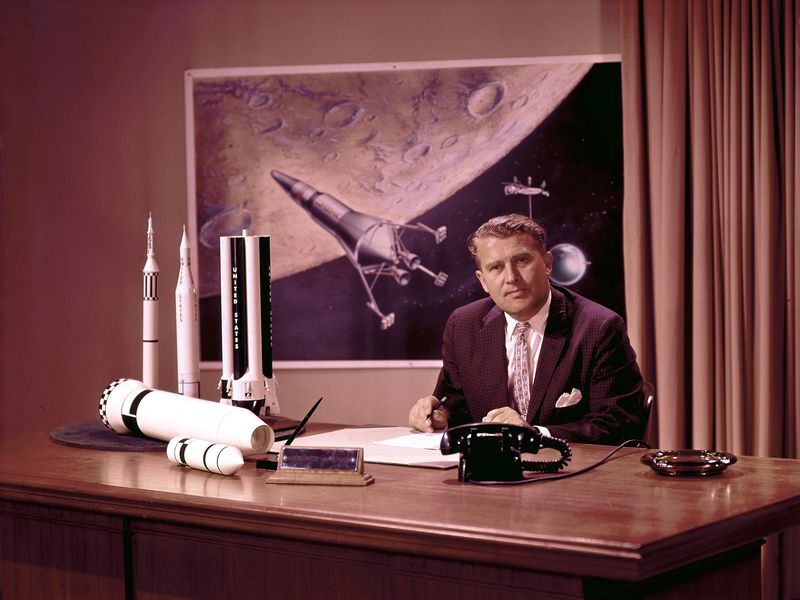 New Play Ad Astra Plumbs The Mystery Of Wernher Von Braun