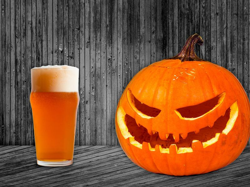 Pumpkin beer