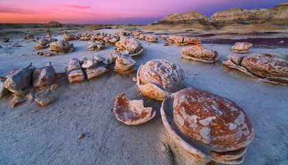 These Massive Rock Formations Look Just Like Cracked Eggs
