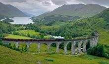 This Magical Train Ride Was Used in a Harry Potter Film