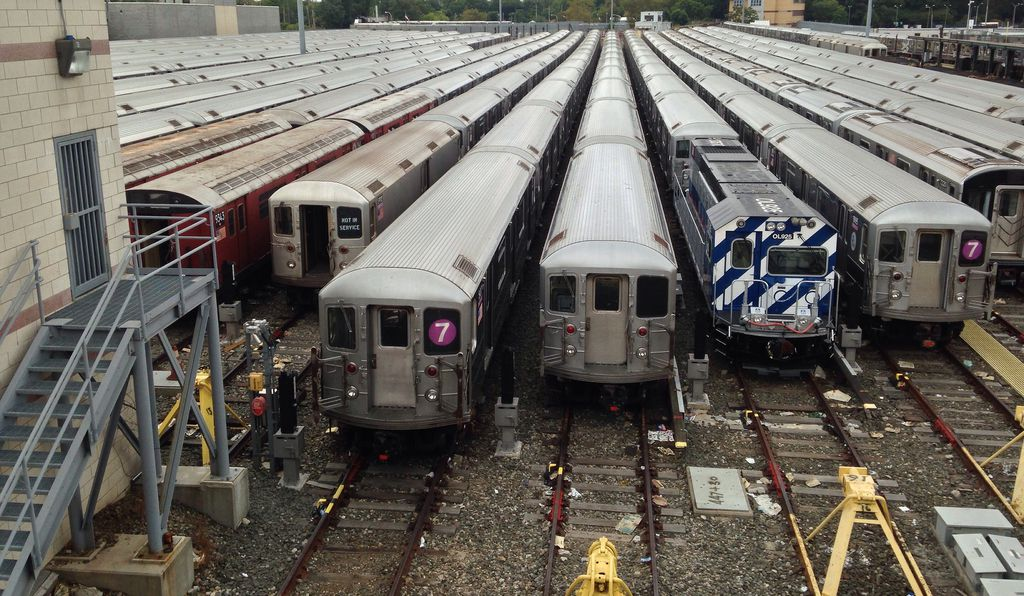 the nyc subway is one of the largest underground rail systems in the world