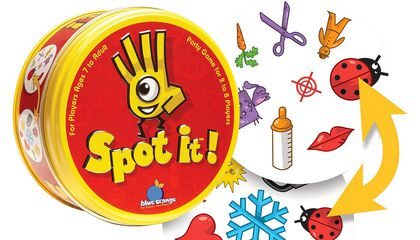 The Mind-Bending Math Behind Spot It!, the Beloved Family Card Game