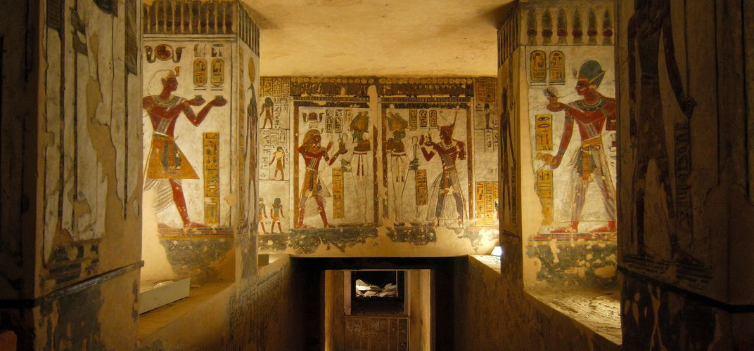 The tomb of Ramses II, Valley of the Kings. Credit: Egyptian Tourism Bureau