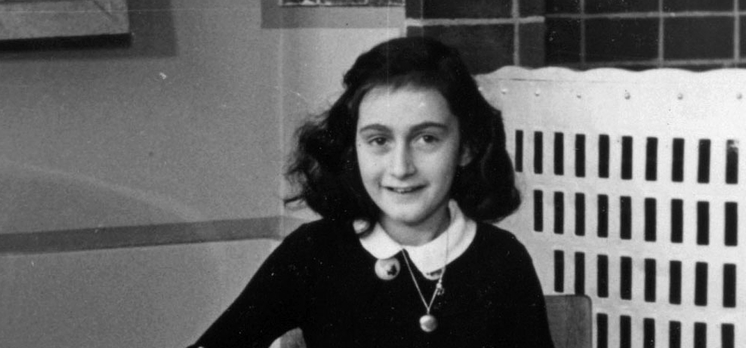 Caption: Two Hidden Pages of Anne Frank's Diary Revealed