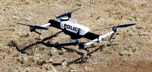 Meet the Qube drone, specially designed for police departments.